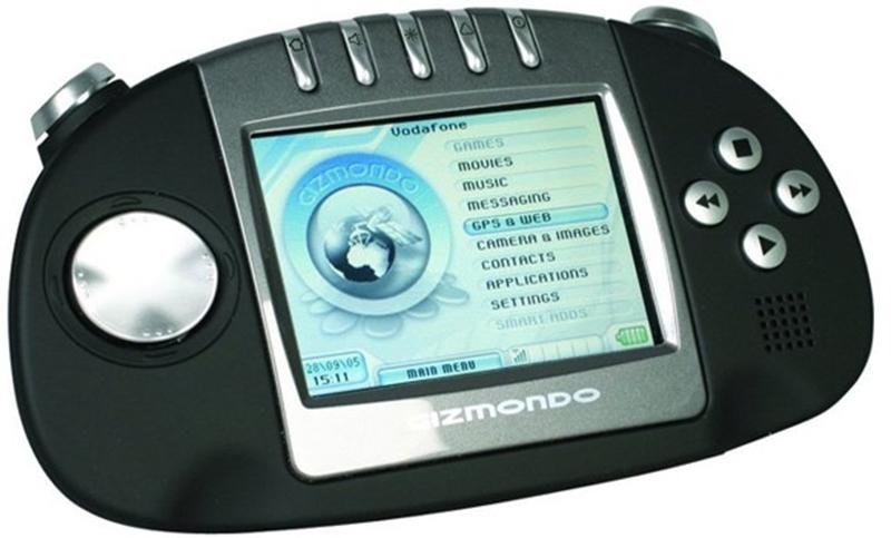 gizmondo vodafone 800x483 - Sự tiến hóa của điện thoại chơi game trong 15 năm qua