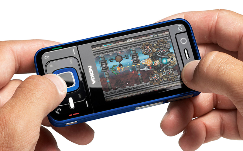 nokia n81 800x500 - Sự tiến hóa của điện thoại chơi game trong 15 năm qua