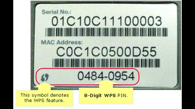 WPS PIN