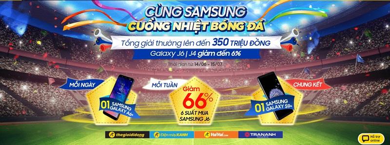 Cùng Samsung cuồng nhiệt bóng đá, dự đoán kết quả cơ hội nhận Galaxy