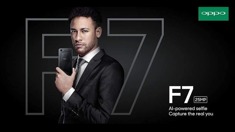 Neymar, cầu thủ Brazil sẽ là đại sứ thương hiệu cho OPPO F7 - ảnh 1