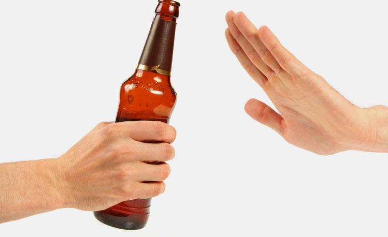 Tránh sử dụng rượu, bia, các chất kích thích như cafein
