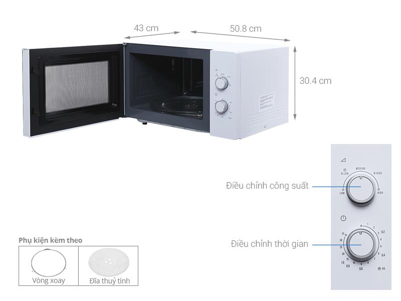 Lò vi sóng Electrolux EMM2525MW 25 lít