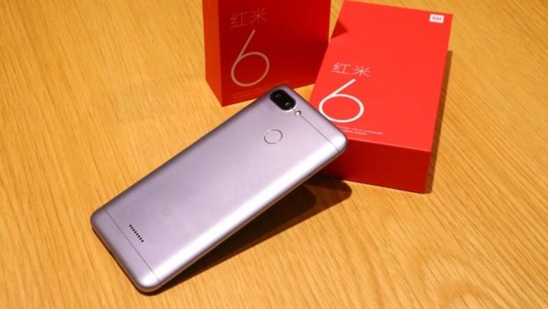 Redmi 6 và Redmi 6A được Xiaomi loại bỏ cổng hồng ngoại