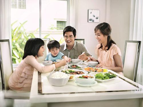 Tất tần tật về kích thước bàn ăn cho gia đình bạn nên biết
