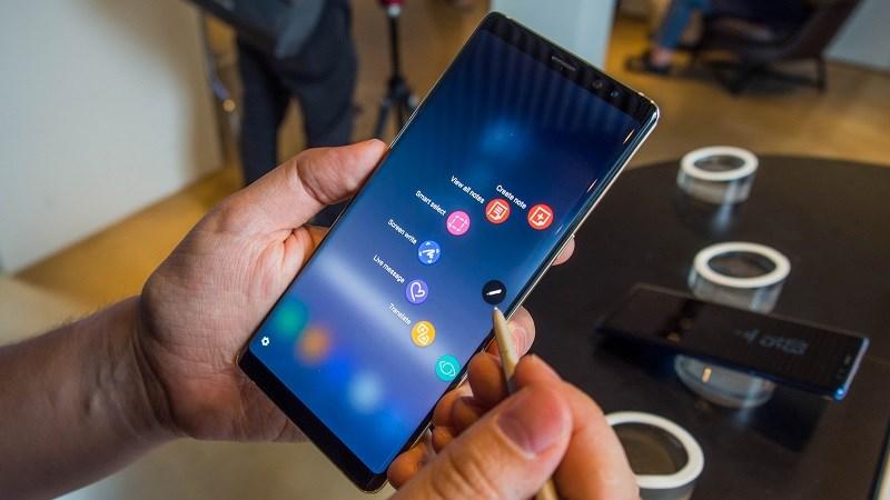 Đây là tính năng lớn từ lâu được mong đợi trên Galaxy Note 9