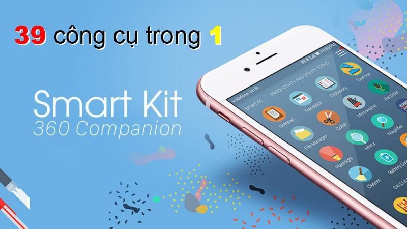 Smart Kit, ứng dụng 39-trong-1 giúp tiết kiệm bộ nhớ tối đa - ảnh 1
