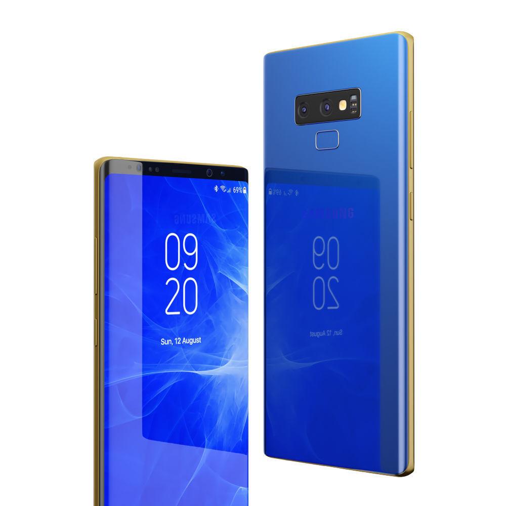 Cùng Ngắm Galaxy Note 9 Với 5 Màu Trong Bộ ảnh Render Mới