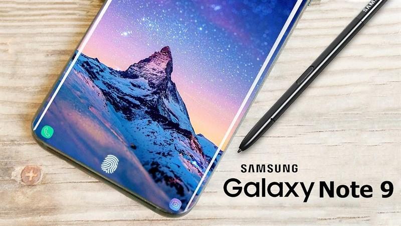 Cùng ngắm Galaxy Note 9 trong bộ ảnh render mới