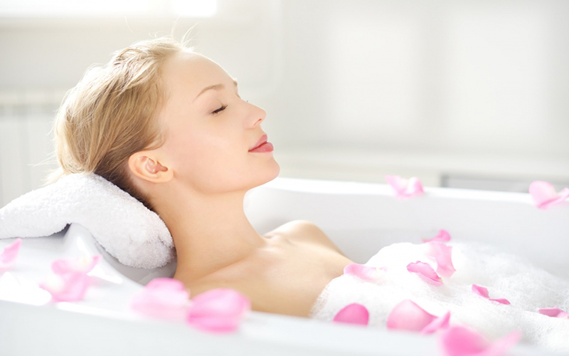 Tác dụng kì diệu của muối tắm với cơ thể