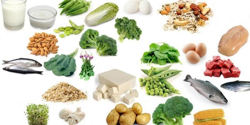 Các thực phẩm chứa nhiều i-ốt là thịt, cá, gạo, rau quả, đặc biệt là các loại hải sản…