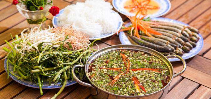 Hướng dẫn chi tiết cách nấu lẩu cá kèo lá giang vừa ngon vừa đơn giản