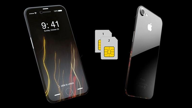 Apple được tin là sẽ mang SIM kép lên iPhone 2018 nhưng với một hướng đi khác.