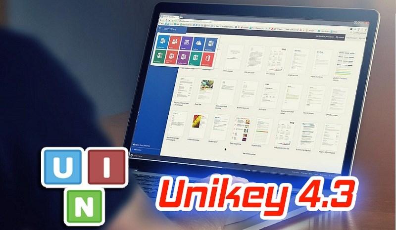 Link tải về UniKey 4.3 v3, khắc phục lỗi gõ Tiếng Việt