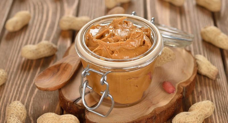 Bơ đậu phộng tự làm có thời han ít nhất nửa năm, bơ đậu phộng thương mại tới 2 năm