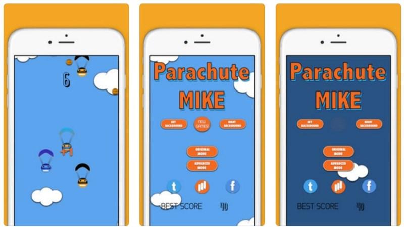 Parachute Mike
