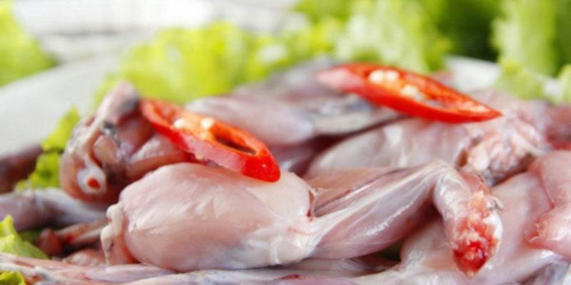 Thịt cóc không bổ dưỡng hơn các loại thịt khác