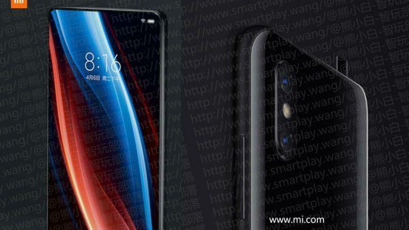 Xiaomi Mi MIX 3 lộ giá bán các phiên bản