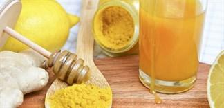 11 lợi ích khi uống tinh bột nghệ với mật ong