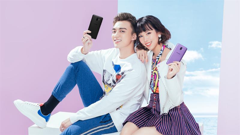 Samsung Galaxy J8 vừa được ra mắt tại Việt Nam