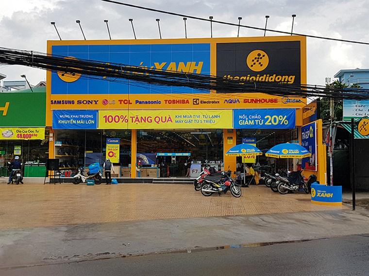 Siêu thị điện máy xanh tại 278 Phạm Văn Chiêu, P.9, Q. Gò Vấp, TP.HCM (gần chợ Thạch Đà).