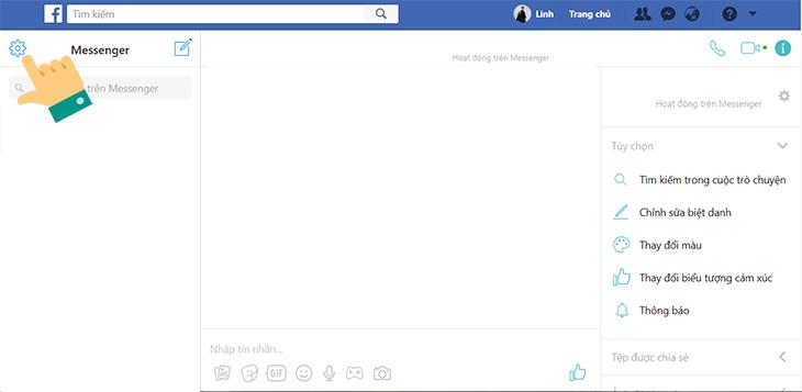 Xem tin nhắn đã xoá trong lưu trữ cuộc trò chuyện