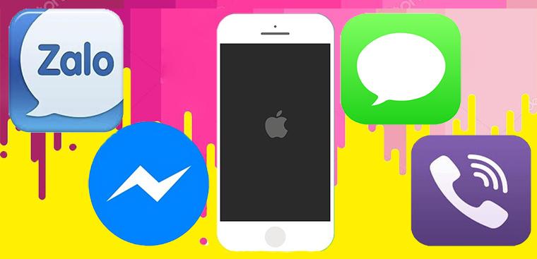 1 phút để khôi phục tin nhắn đã xóa trên Zalo, Facebook, Viber, Iphone