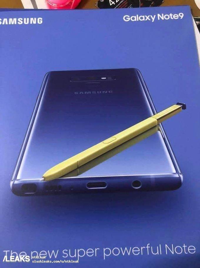 Rò rỉ hình ảnh poster của Galaxy Note 9 sắp ra mắt - ảnh 2