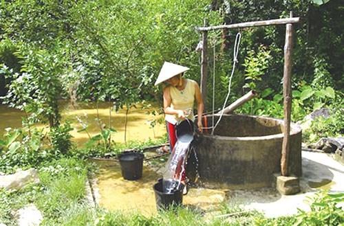 Nước giếng khoan giờ đây không còn đảm bảo độ an toàn cho sức khỏe