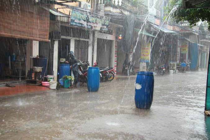 hứng nước mưa sử dụng có tốt?