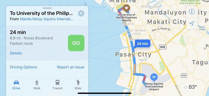 Apple Maps đã hỗ trợ theo dõi tình trạng giao thông tại Việt Nam - ảnh 2