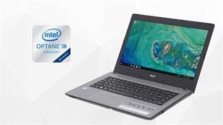 Laptop đầu tiên hỗ trợ Intel Optane - Acer Aspire E5 476 50SZ đã lên kệ TGDĐ