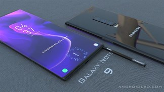 Galaxy Note 9 lộ ảnh thực tế kèm ảnh báo chí đẹp mắt