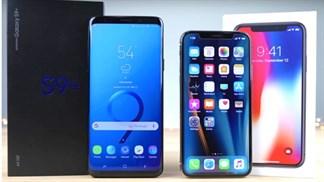 Q2/2018, Apple đã cân bằng thị phần smartphone với Samsung tại Mỹ