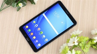 Galaxy Tab A 8.0 (2018) xuất hiện: Không có nút Home, viền cạnh cong