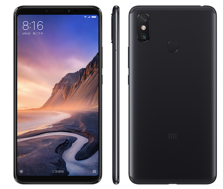 Xiaomi Mi Max 3 ra mắt: Màn 6.9 inch, pin 5.500 mAh, giá từ 5.8 triệu