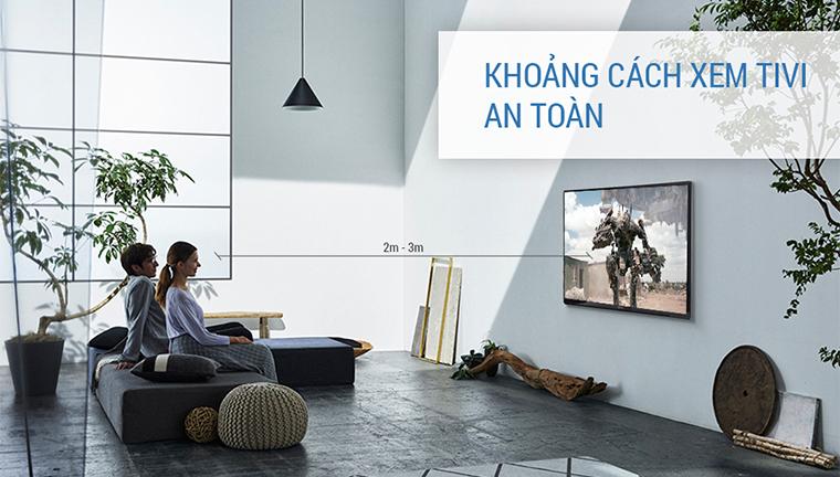 Khoảng cách xem tivi