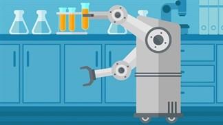 Robot có thể sử dụng AI để tìm ra các loại thuốc mới trong y học