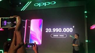 OPPO Find X chính thức ra mắt tại Việt Nam, tặng quà ngon + trả góp 0%