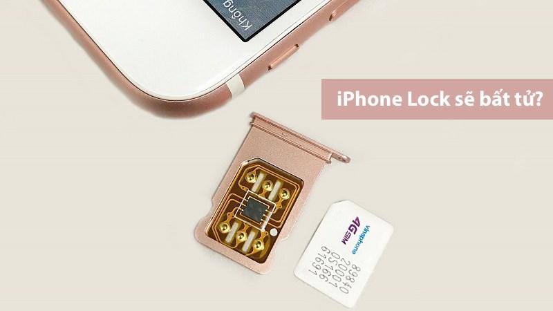 Mã ICCID mới cho iPhone Lock: Không cần dùng SIM ghép nữa?