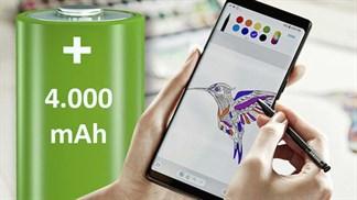 Galaxy Note 9 sẽ có pin 4.000 mAh: Thông tin đã được ANATEL xác nhận