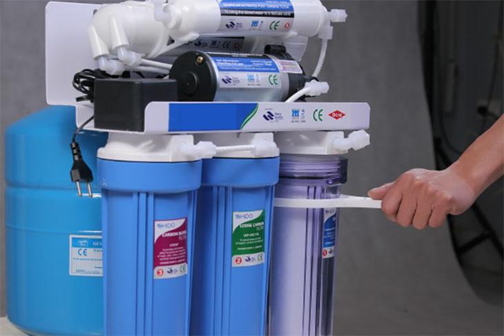 5 bước tự thay lõi số 1, 2, 3 của máy lọc nước RO tại nhà