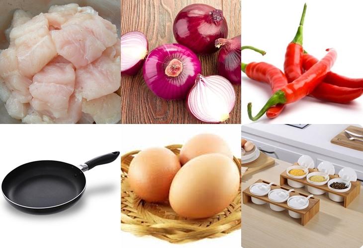 Nguyên liệu món ăn cá viên chiên