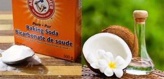 """Tẩy sạch tế bào chết với hỗn hợp """"thần thánh"""": dầu dừa và baking soda"""