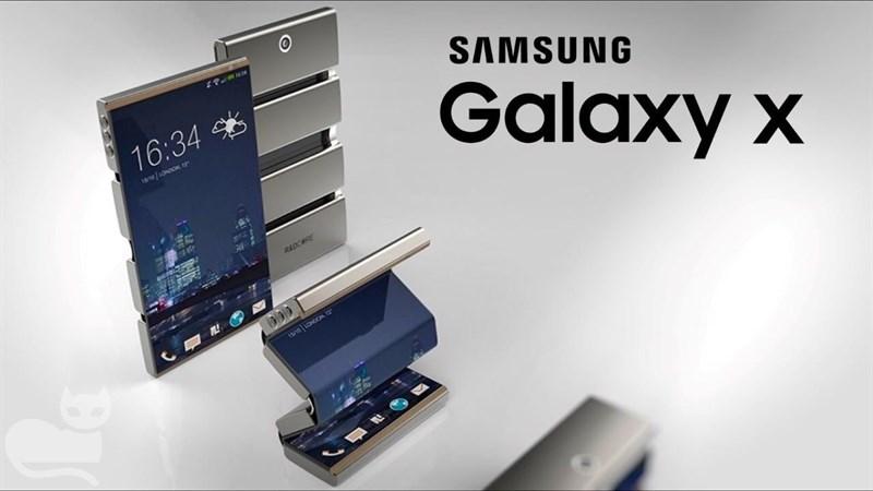 Xuất hiện bằng sáng chế smartphone Samsung màn hình dẻo, tập trung selfie