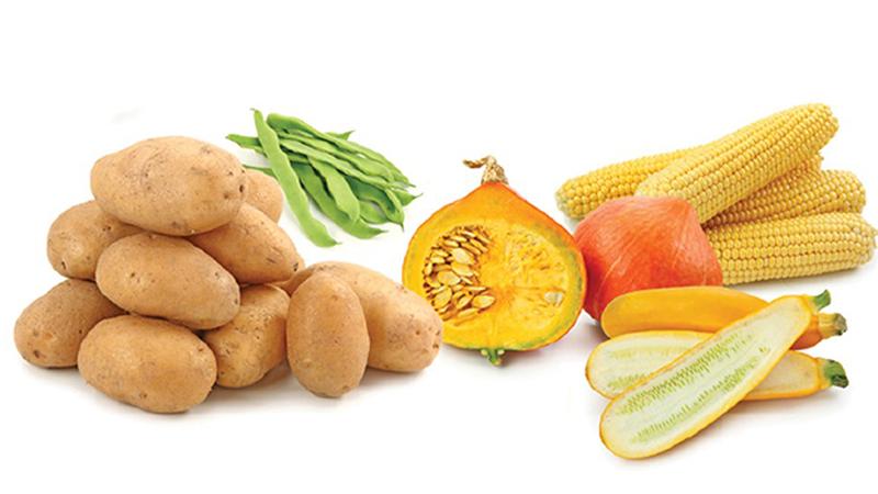 Những rau củ nhiều tinh bột gây tăng cân