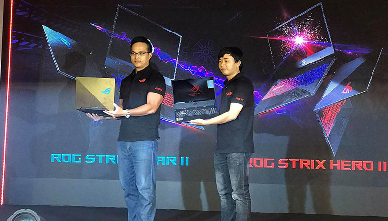asus ra mat laptop gaming 10 800x456 - Asus ra mắt laptop gaming ROG Strix Scar II và Strix Hero II