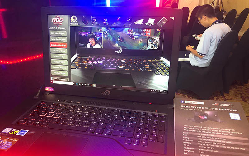 asus ra mat laptop gaming 2 800x500 - Asus ra mắt laptop gaming ROG Strix Scar II và Strix Hero II
