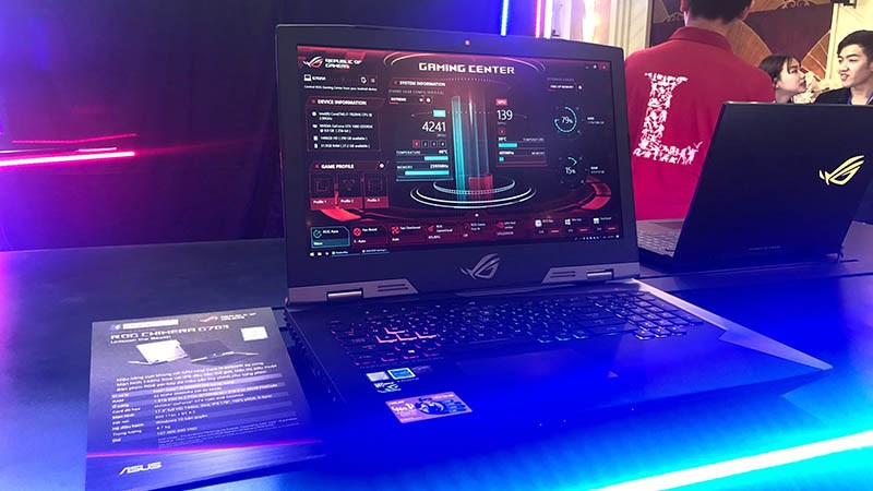asus ra mat laptop gaming 4 800x450 - Asus ra mắt laptop gaming ROG Strix Scar II và Strix Hero II