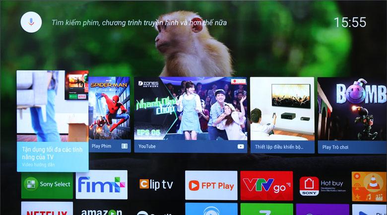 Có gì đặc biệt trên hệ điều hành Android 7.0 của tivi Sony?
